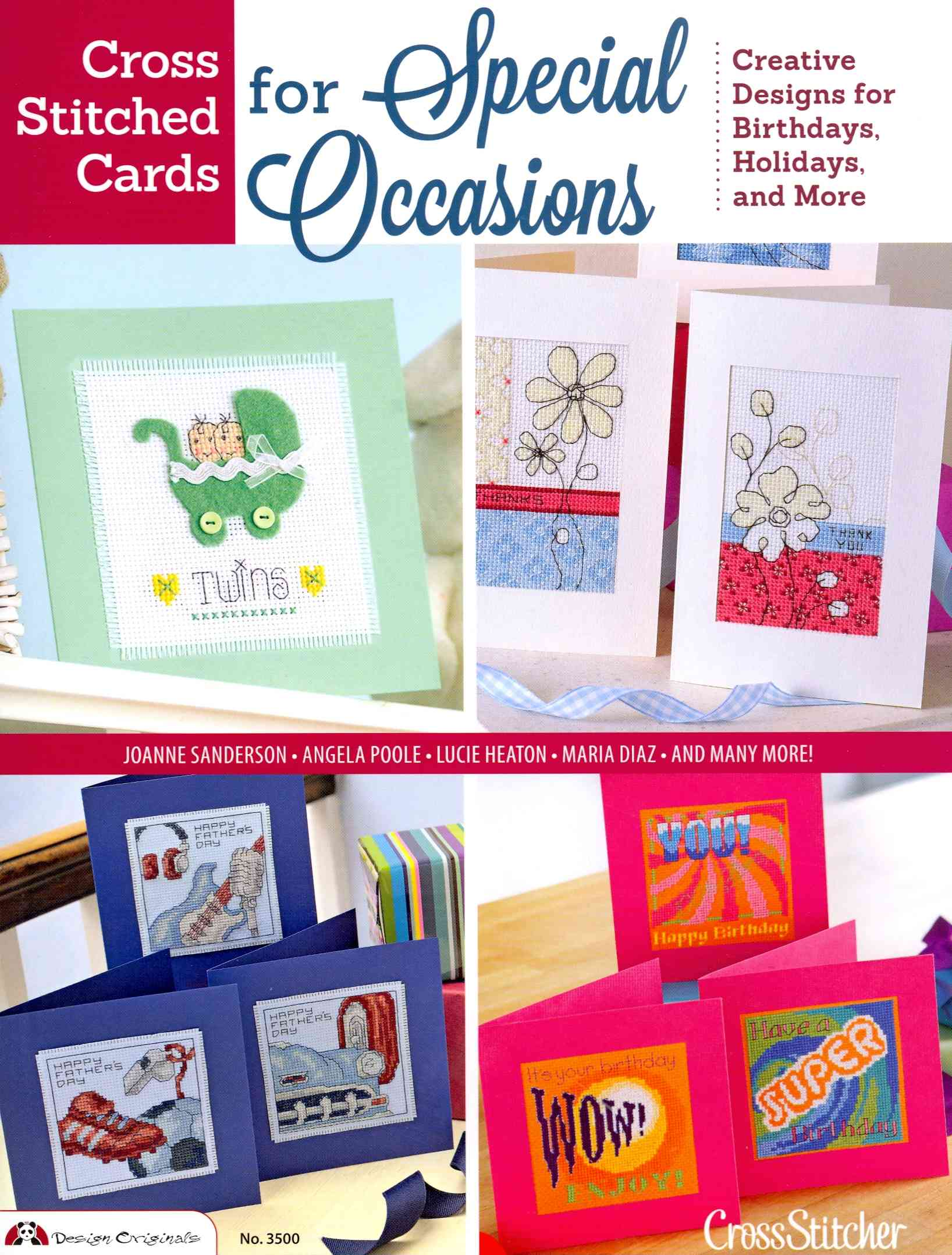 Cross Stitched Cards for Special Occasions By Future Publishing (COR)
